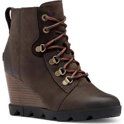 ソレル Sorel レディース ブーツ ブーティー シューズ・靴 Joan Uptown Lace Booties Blackened Brown