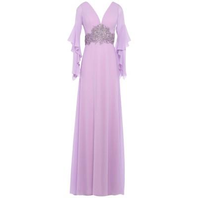 CARLO PIGNATELLI CERIMONIA ロングワンピース&ドレス ライラック 40 ポリエステル 100% ロングワンピース&ドレス