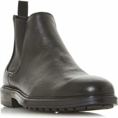 デューン Dune London メンズ ブーツ チェルシーブーツ チャンキーヒール シューズ・靴 manchego chunky sole chelsea boots Black