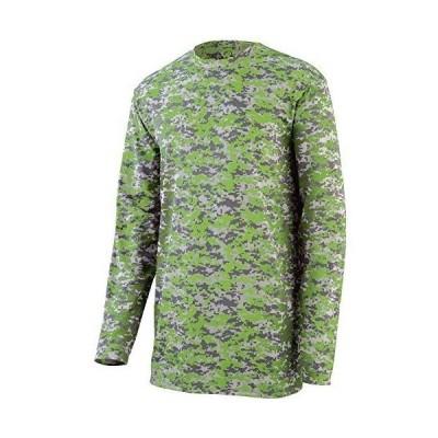 メンズ 衣類 トップス Augusta Sportswear MEN'S DIGI CAMO WICKING LONG SLEEVE T-SHIRT M Lime Digi Tシャツ