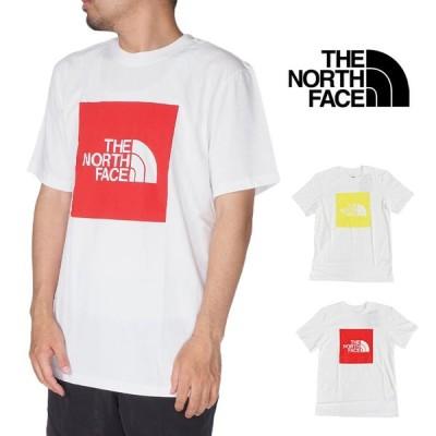ノースフェイス 半袖Tシャツ メンズ ニューボックスロゴ TEE レディース S M L XLサイズ ホワイト 白 USモデル 大きいサイズ THE NORTH FACE SHORT SLEEVE NEW B