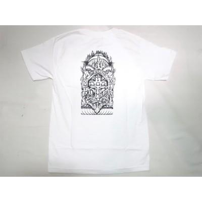 DOGTOWN ドッグタウン OSTER POCKET スコット オスター ポケット Tシャツ 白