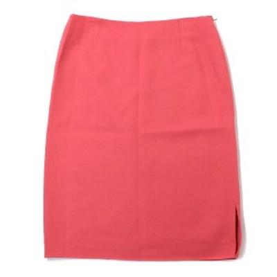 HANAE MORI(ハナエモリ) スカート タイト クレープ 大きいサイズ ピンク 46(3L)【K1962】【レディース】