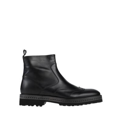 ALBERTO GUARDIANI ショートブーツ ファッション  メンズファッション  メンズシューズ、紳士靴  ブーツ  その他ブーツ ブラック