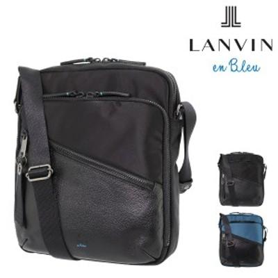 【レビューを書いてポイント+5%】ランバンオンブルー ショルダーバッグ フェリックス メンズ 564122 日本製 LANVIN en Bleu 軽量 コン
