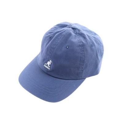 カンゴール(KANGOL) ウォッシュ ベースボール キャップ 1001692207219 BLU (メンズ)
