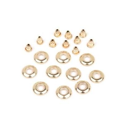 GreenOcean ピアス・イヤリング 10個 ガラスドーム用ピアスキャッチ金具 きれいめゴールド