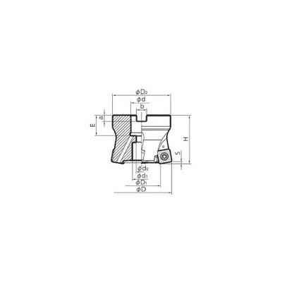 ミーリング用ホルダ 京セラ MFH063R105T22M-2039