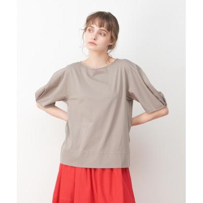 collex / 袖タックプルオーバー WOMEN トップス > Tシャツ/カットソー