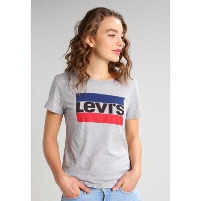 リーバイス Tシャツ レディース トップス THE PERFECT - Print T-shirt - grey