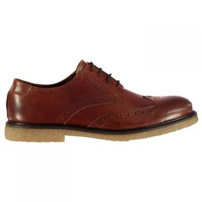 ファイヤートラップ Firetrap メンズ 革靴・ビジネスシューズ ブローグ シューズ・靴 Welland Brogues Tan