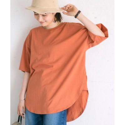 tシャツ Tシャツ 機能付きマチラウンドTシャツ