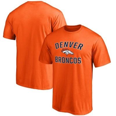 デンバー・ブロンコス NFL Pro Line by Fanatics Branded Big & Tall Victory Arch T-シャツ - Heathered Gray