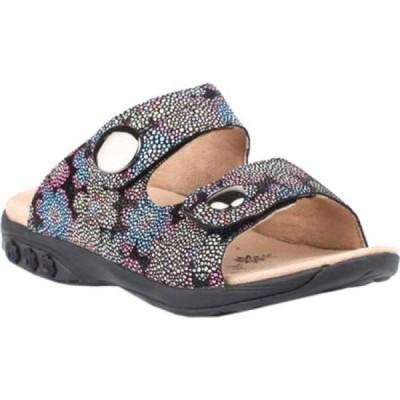 セラフィット Therafit レディース サンダル・ミュール シューズ・靴 Eva Slide Floral Leather