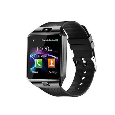 【並行輸入品】Padgene Bluetoothスマートウォッチ タッチスクリーンリストスマートフォンウォッチ スポーツフィットネストラッカー SIM