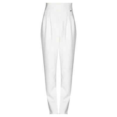 ARMANI EXCHANGE パンツ ホワイト 2 ポリエステル 91% / ポリウレタン 9% パンツ