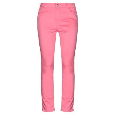 MY TWIN TWINSET パンツ ピンク 25 コットン 97% / ポリウレタン 3% パンツ
