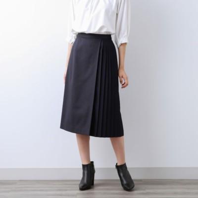 【Sサイズ〜】チェックストレッチ プリーツコンビスカート