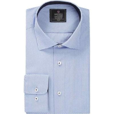 スコープス Skopes メンズ シャツ トップス luxury collection formal shirts Sky Blue