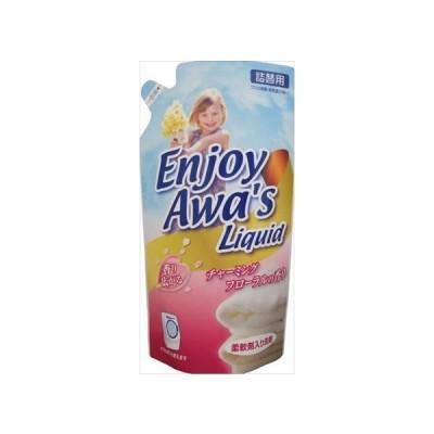 ロケット石鹸 エンジョイアワーズ 液体洗剤 チャーミングフローラル 詰め替え 800g(4903367091567)