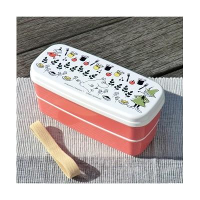 大人可愛い2段弁当箱 森のキッチン【電子レンジ対応】【日本製】 お弁当箱・水筒(ニッセン、nissen)