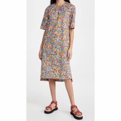 マルニ Marni レディース ワンピース 半袖 ワンピース・ドレス Short Sleeve Dress Lily White