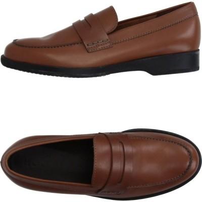 ホーガン HOGAN メンズ ローファー シューズ・靴 loafers Brown