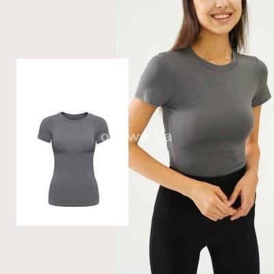 半袖 Tシャツ レディース きれいめ 無地 Tシャツ  半袖 春 夏 ゆったりカジュアルTシャツ トップス