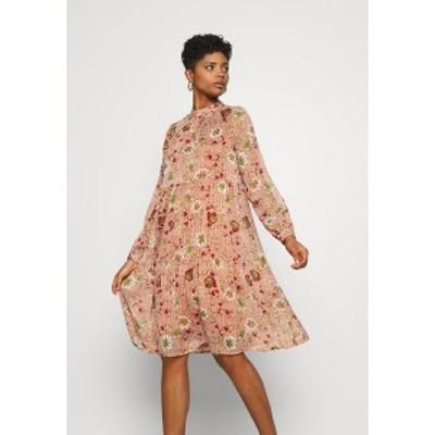 ヴェロモーダ レディース ワンピース トップス VMCILLE DRESS  - Day dress - auburn/cille auburn/cille