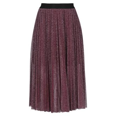 コッカ KOCCA 7分丈スカート フューシャ S ナイロン 70% / ポリエステル 30% 7分丈スカート