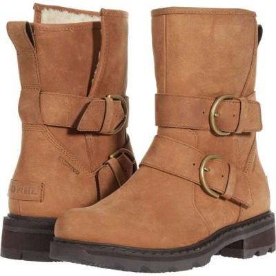 ソレル SOREL レディース ブーツ シューズ・靴 Lennox(TM) Moto Boot Cozy Velvet Tan