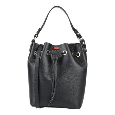 TSD12 ハンドバッグ ブラック 革 ハンドバッグ