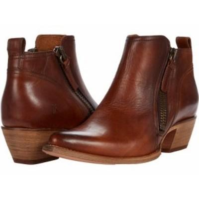 Frye フライ レディース 女性用 シューズ 靴 ブーツ アンクル ショートブーツ Sacha Moto Short Caramel Antique Pull Up【送料無料】