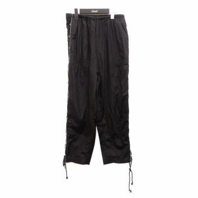 【6月3日値下】HYEIN SEO サイドギャザーパンツ ブラック サイズ:2 (梅田クロス茶屋町店)