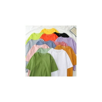 【セール】Tシャツ 無地 レディース 半袖Tシャツ SI サマーTシャツ クルーネック 無地Tシャツ カットソー 夏Tシャツ カジュアル カラバ