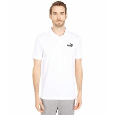 プーマ メンズ シャツ トップス Essential Pique Polo PUMA White