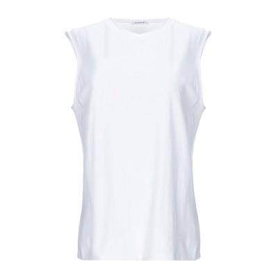 パロッシュ P.A.R.O.S.H. T シャツ ホワイト XS コットン 100% T シャツ