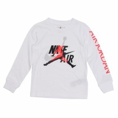 ジョーダン(JORDAN)ジュニア ジャンプマン クラシック グラフィックシャツ 長袖 856898-001 オンライン価格(…