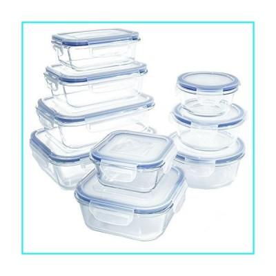 ガラス食品ストレージコンテナセット–BPAフリー– ホーム、キッチン、レスト