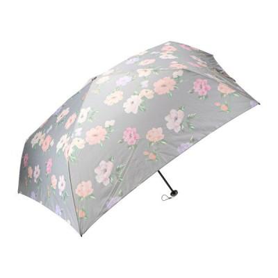 軽量 折りたたみ傘 フロレゾン グレー マークス