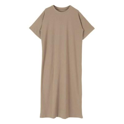 バックレースアップワンピース ティティベイト titivate (ワンピース)Dress