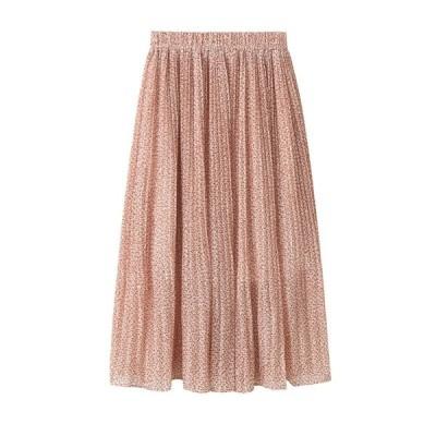 スカート ロングスカート ボトムス ウエストゴム  大人かわいい 大きいサイズ レディース おしゃれ 人気