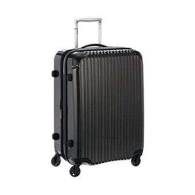 [シフレ] siffler 拡張スーツケース エスケープ 55cm 58-68L 4.0kg 中型サイズ TSAロック ESC2007-55 ガンメタ