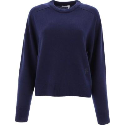 クロエ Chloe レディース ニット・セーター トップス Cashmere Sweater Blue