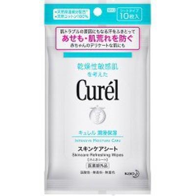 キュレル スキンケアシート(10枚入)[拭き取りタイプ化粧水]
