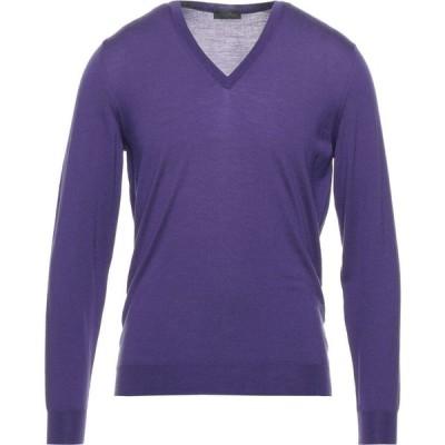 ドルモア DRUMOHR メンズ ニット・セーター トップス Sweater Purple