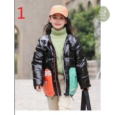 可愛い 女児 韓国風 厚手 ロングコート お出かけ おしゃれ ダウンジャケット 女の子 フード付き 中綿コート 子供コート 暖かい ジュニア ダウンコート