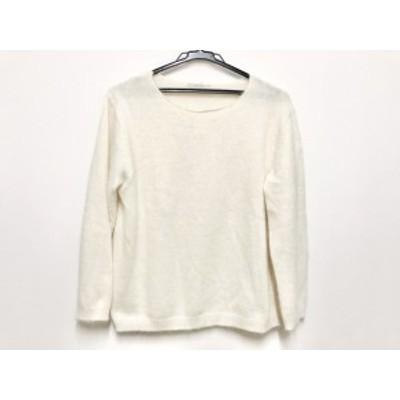 ローズティアラ Rose Tiara 長袖セーター サイズ42 L レディース アイボリー【中古】20200529