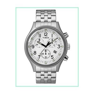 [男性用腕時計]Timex Mens Chronograph Quartz Watch with Stainless Steel Strap TW2R68900[並行輸入品]【並行輸入品】