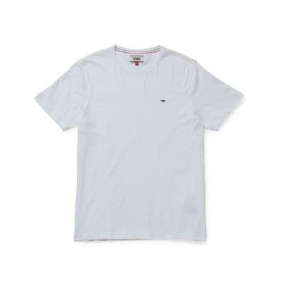 ジュンセレクト/TOMMY JEANSベーシックTシャツ/ホワイト/M